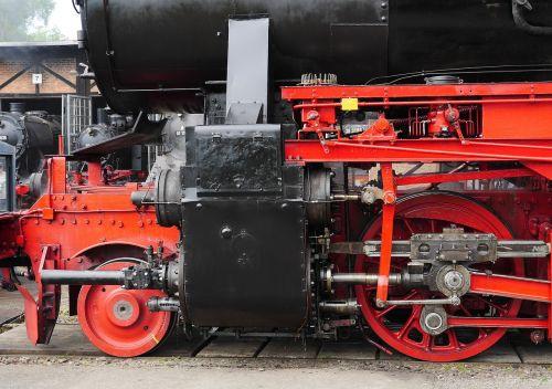 steam locomotive drive cylinder