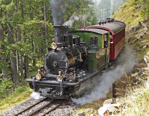 steam locomotive switzerland rack railway