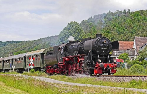 steam locomotive museum train event