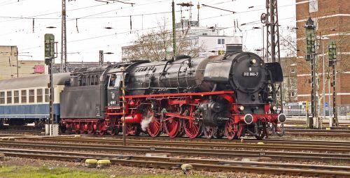 steam locomotive express train penny farthing locomotive