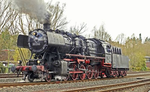 steam locomotive series 50 db-outfit
