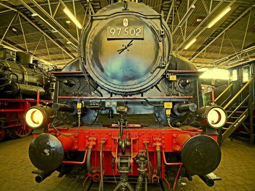steam locomotive railway museum bochum-dahlhausen