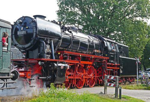 steam locomotive passenger train event
