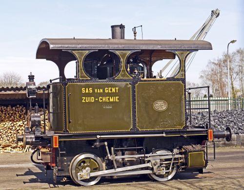 steam locomotive kabinenlok firebox