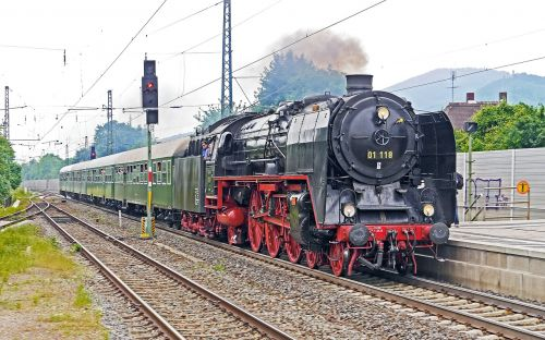 steam locomotive express train special crossing