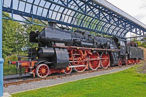 steam locomotive monument offenburg