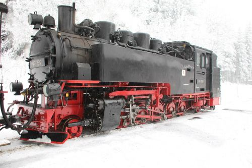 steam locomotive railway old