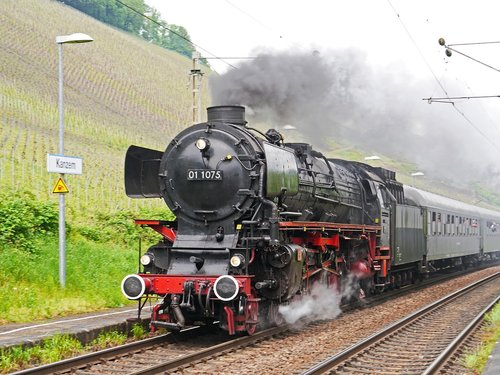 steam locomotive  express train  event