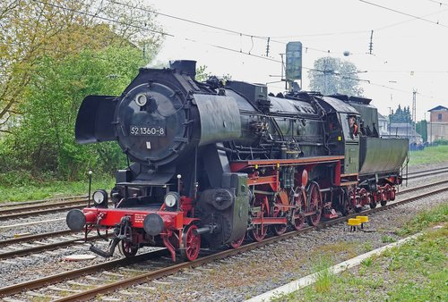 steam locomotive  shunting  implement