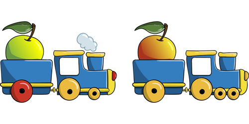 steam locomotive  apple  differences