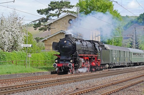 steam locomotive  express train  the steam spectacle in 2018