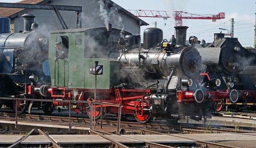 steam locomotive  museum  nördlingen