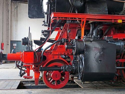 steam locomotive  engine  cylinder block