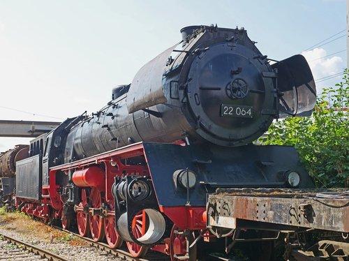 steam locomotive  museum  workup