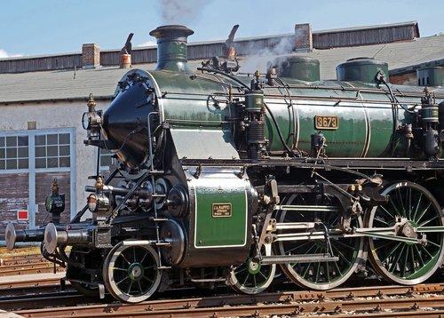 steam locomotive  front  bavarian s 3-6