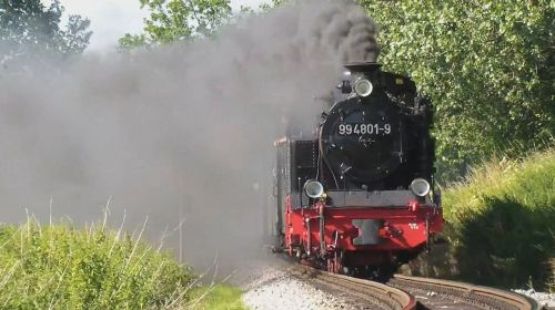 steam locomotive rasender roland rügen