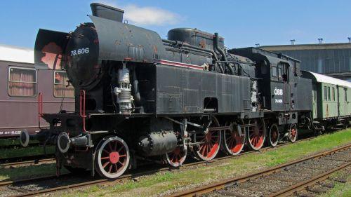 steam locomotive 78 606