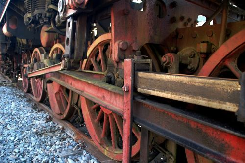steam locomotive drive locomotive