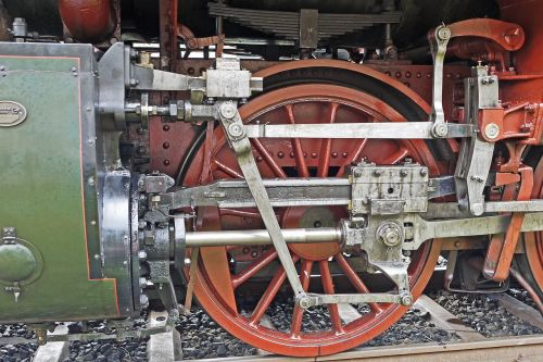 steam locomotive drive mechanics cylinder