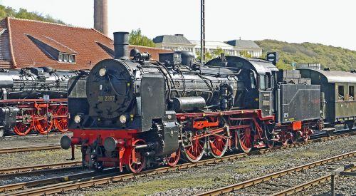 steam locomotives railway museum bochum-dahlhausen