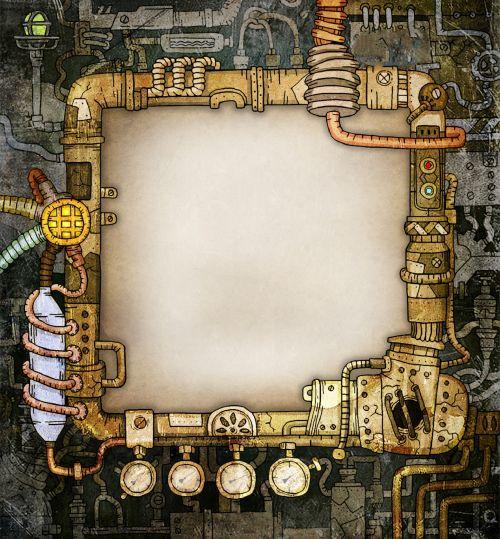 Steam Punk Frame