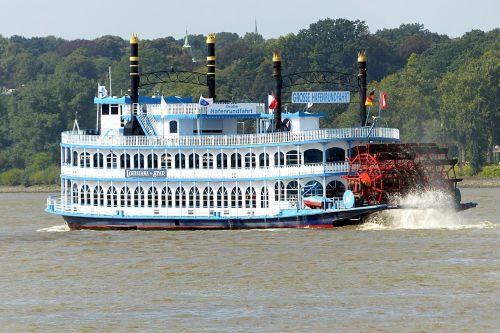 steamer paddle steamer ship