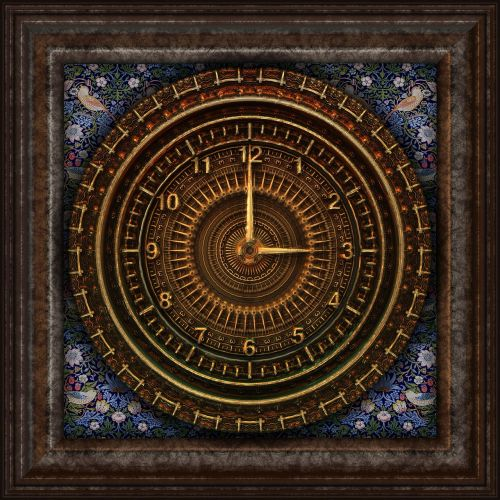 steampunk clock victorian