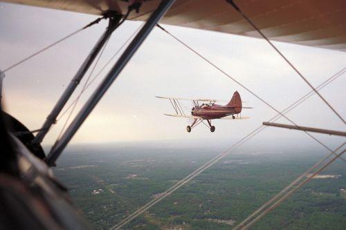 stearman waco aerobatics