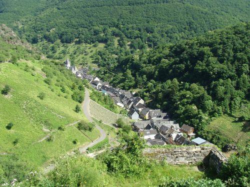 steeg bacharach rhine valley