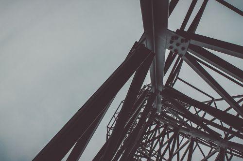 steel metal tower