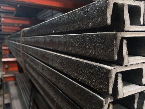 steel channel rusty