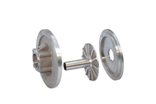 steel spare isolated