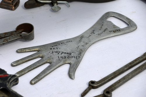 steel  tool  bottle opener