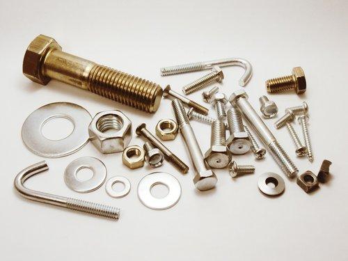 steel  screw  metal