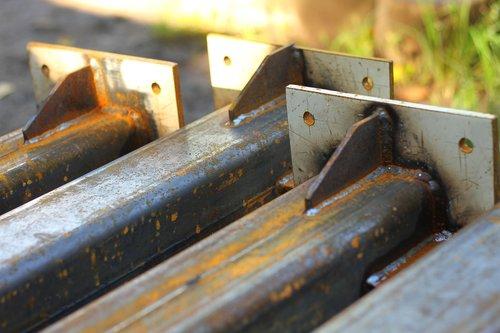 steel  iron  post