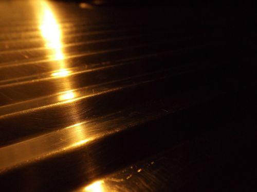 steel background light