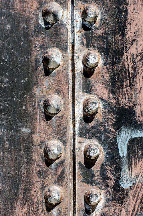 steel bolt rivet metal