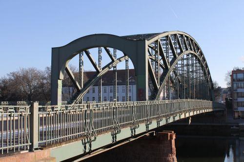 steel bridge arch bridge hall