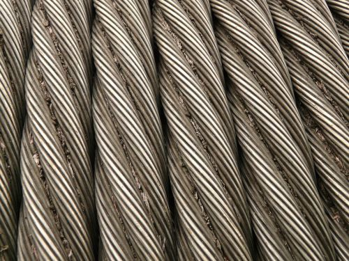 steel cable rope metal