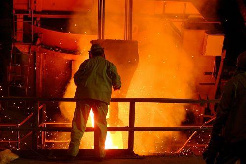 steel mill worker foundry