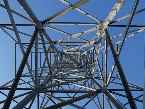 steel scaffolding sculpture metal