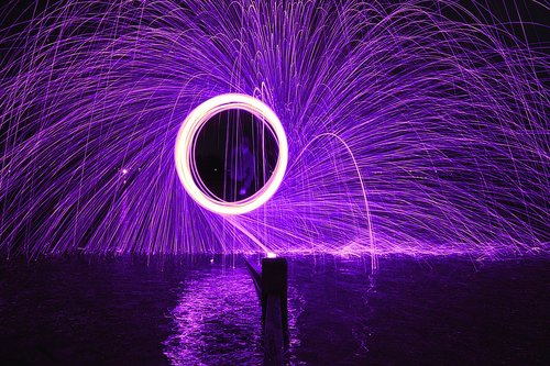 steel wool photography  photography  steel wool