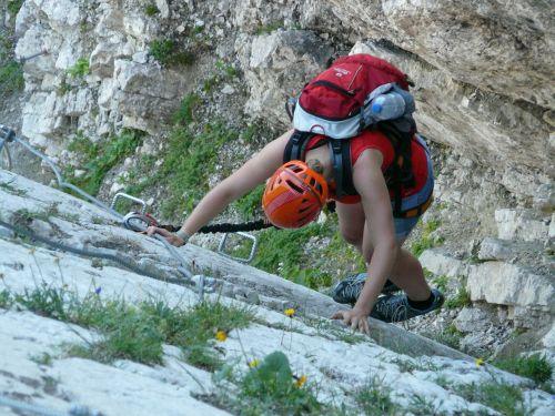 steep descent climb