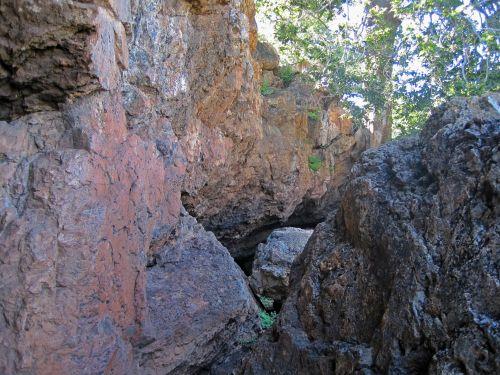 Steep Sides Of Ravine