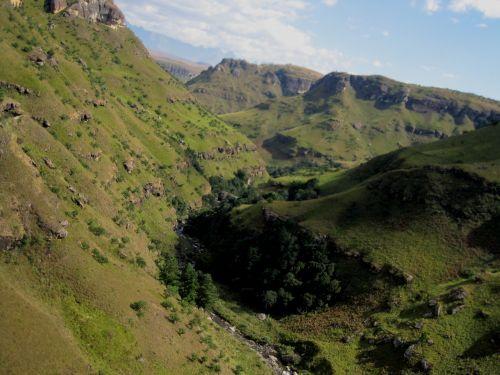 Steep Slopes, Drakensberg