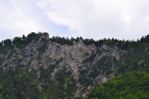 steep walls craggy ridge hard climb