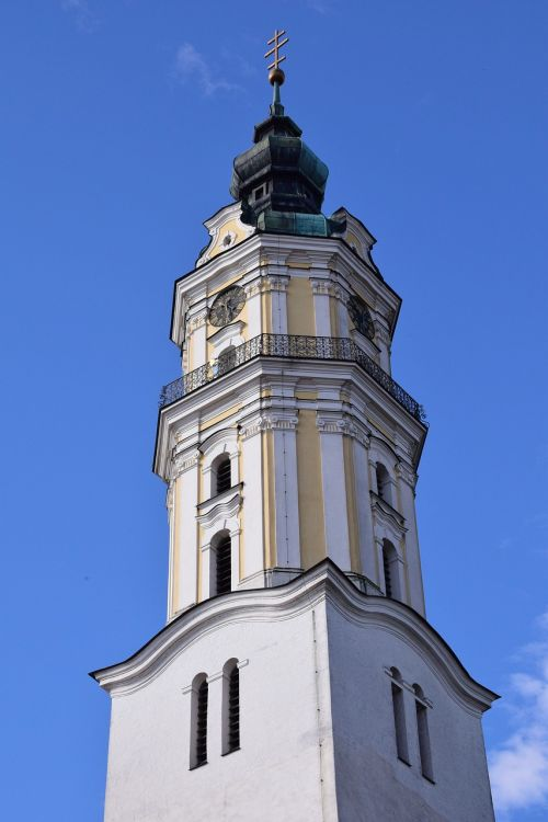 steeple bell tower donauwörth