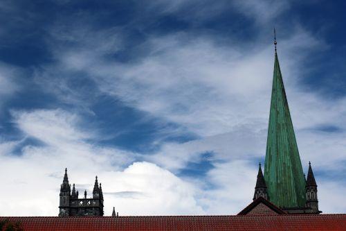 steeple sky blue