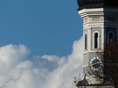 steeple ulm holy trinity church