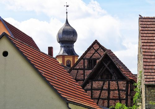 steeple onion dome roof landscape